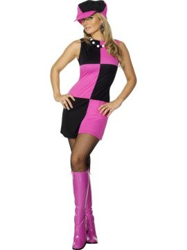 Swinging '60s For Sale - Swinging 60s Costume, with Dress and Hat | The Costume Corner Fancy Dress Super Store