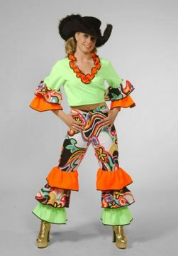 Swirl Two Piece For Sale - Flower Two Piece (Hire Costume) | The Costume Corner