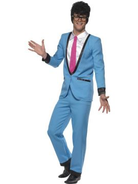 Teddy boy For Sale - Teddy Boy Costume, With Trousers, Jacket With Mock Shirt and Tie | The Costume Corner Fancy Dress Super Store