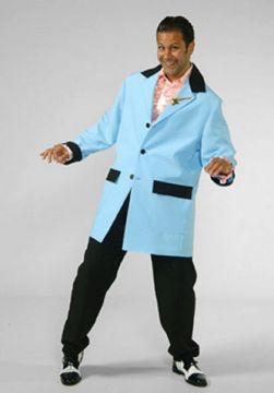 Teddy Boy Light Blue For Sale - Teddy Boy Light Blue (Hire Costume) | The Costume Corner