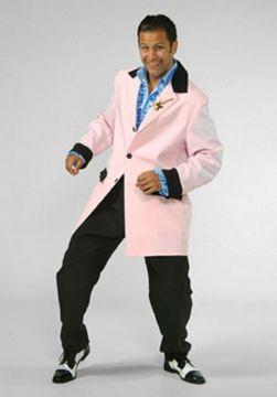 Teddy Boy Light Pink For Sale - Teddy Boy Light Pink (Hire Costume)   The Costume Corner