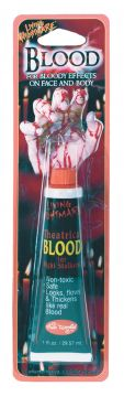Theatrical Blood For Sale - (1 Fl oz) Theatrical Blood | The Costume Corner Fancy Dress Super Store
