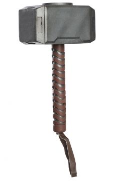 Thor Hammer For Sale - Plastic thor hammer in display packaging | The Costume Corner Fancy Dress Super Store