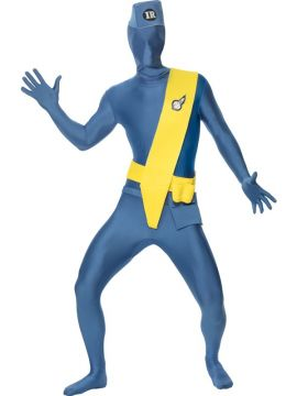 Thunderbirds 2ND SKIN For Sale - Thunderbirds Second Skin Costume, Sash, Hat, Concealed Fly, Under Chin Opening & Bum Bag. | The Costume Corner Fancy Dress Super Store