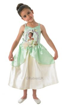 Tiana For Sale - Transform into Tiana, star of Disney's The Princess and the Frog! This is Tiana's iconic lily pad dress, just one of the stunning outfits she wears. when she is not a frog! Be ... | The Costume Corner Fancy Dress Super Store