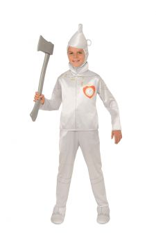 Tin Man For Sale - The tinsmith may have forgotten to give you a heart, but that's the only thing you'll be missing when you wear this faithful reproduction of the Tin Man from The Wizard of Oz. ... | The Costume Corner Fancy Dress Super Store