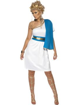 Roman Toga For Sale - Roman Beauty Costume, With Dress, Toga, Belt and Headpiece | The Costume Corner Fancy Dress Super Store