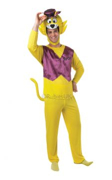 Top Cat For Sale - Quick-witted, fast talking alley cat Top Cat lives in a dustbin but is worth much more than that! With your mates Benny, Choo-Choo, Brain, Spook and the rest, will you give Off... | The Costume Corner Fancy Dress Super Store