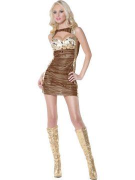 Treasure Chest - Pirate For Sale - Fever Treasure Chest Costume, With Dress | The Costume Corner Fancy Dress Super Store