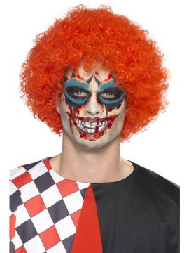 Twisted Clown Make-Up Kit For Sale - Contains Tattoo Transfers, Face Paints, Blood & Applicators | The Costume Corner Fancy Dress Super Store