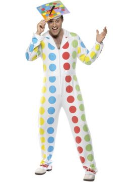 Twister For Sale - Twister Costume Includes Overalls and Hat. | The Costume Corner Fancy Dress Super Store