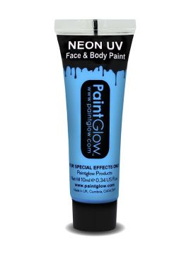 UV Face & Body Paint, Baby Blue For Sale - UV Face & Body Paint, Baby Blue, 10ml | The Costume Corner Fancy Dress Super Store