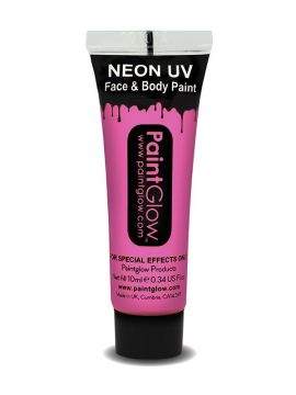 UV Face & Body Paint, Baby Pink For Sale - UV Face & Body Paint, Baby Pink, 10ml | The Costume Corner Fancy Dress Super Store