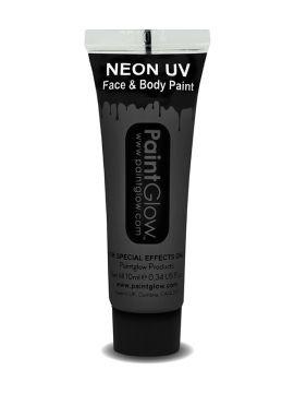 UV Face & Body Paint, Black For Sale - UV Face & Body Paint, Black, 10ml | The Costume Corner Fancy Dress Super Store
