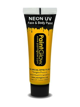UV Face & Body Paint, Orange For Sale - UV Face & Body Paint, Orange, 10ml | The Costume Corner Fancy Dress Super Store