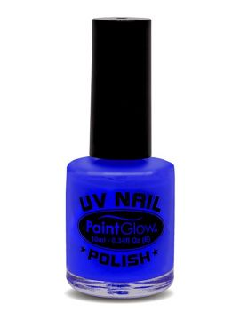 UV Nail Polish, Blue For Sale - UV Nail Polish, Blue, 12ml | The Costume Corner Fancy Dress Super Store