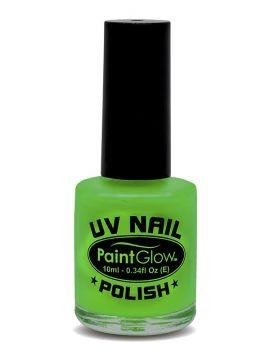 UV Nail Polish, Green For Sale - UV Nail Polish, Green, 12ml | The Costume Corner Fancy Dress Super Store