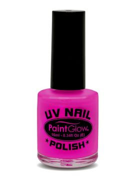 UV Nail Polish, Magenta For Sale - UV Nail Polish, Magenta, 12ml | The Costume Corner Fancy Dress Super Store