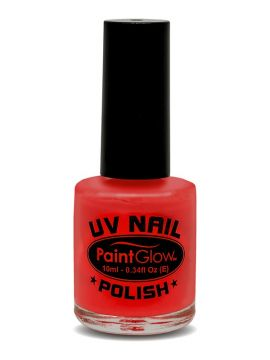 UV Nail Polish, Red For Sale - UV Nail Polish, Red, 12ml | The Costume Corner Fancy Dress Super Store