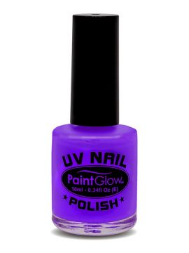 UV Nail Polish, Violet For Sale - UV Nail Polish, Violet, 12ml | The Costume Corner Fancy Dress Super Store