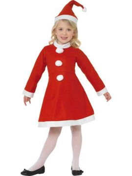 Value Santa Girl For Sale - Value Santa Girl Costume, with Dress and Hat | The Costume Corner Fancy Dress Super Store