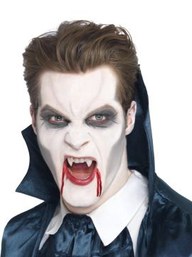 Vampire Fangs For Sale - Vampire Fangs, White with Adhesive. | The Costume Corner Fancy Dress Super Store