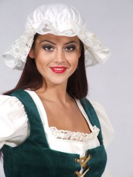 Wench mop cap For Sale - Wench mop cap (Hire Costume) | The Costume Corner