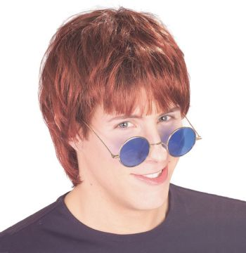 Pop Wig- Brown For Sale - Popstar Brown Wig. Long, but not too long, layered but not bouffant, our pop star wigs will let you impersonate a whole host of stars and heartthrobs. | The Costume Corner Fancy Dress Super Store