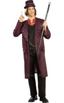 Willy Wonka For Sale - Capture the magic of the ultimate chocolatier, Willy Wonka himself. Hand out precious Golden Tickets as invitations to a children's party (an edible chocolate room would go dow... | The Costume Corner Fancy Dress Super Store