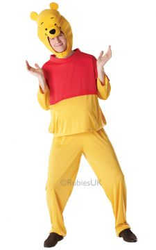 Winnie the Pooh For Sale - Top, trousers and foam filled characer headpiece. Don't stay in your corner of the Forest waiting for others to come to you. Step out across the 100 Aker Wood as Winnie th... | The Costume Corner Fancy Dress Super Store