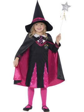 Witch Schoolgirl For Sale - Witch Schoolgirl Costume, with Jumper, Skirt, Hat and Cape | The Costume Corner Fancy Dress Super Store
