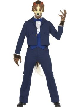 Mr Wolf For Sale - Wolf in suit costume | The Costume Corner Fancy Dress Super Store