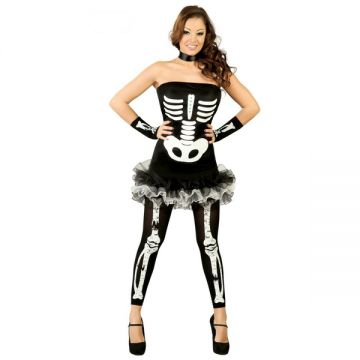 Womens Bloody Skeleton Dress For Sale - Includes dress