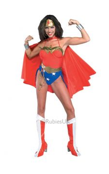 Wonder Woman For Sale - Wonder woman costume includes one piece, cape and head piece. | The Costume Corner Fancy Dress Super Store