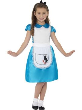 Wonderland Princess For Sale - Blue Dress with Headband | The Costume Corner Fancy Dress Super Store