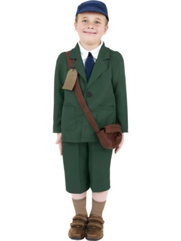 World War II Evacuee For Sale - World War II Evacuee boy | The Costume Corner Fancy Dress Super Store