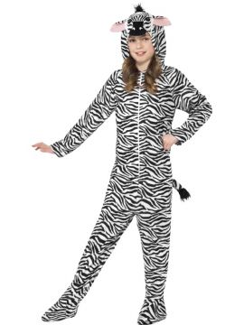 Zebra For Sale - All in one with hood | The Costume Corner Fancy Dress Super Store