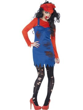 Zombie Plumber For Sale - Hat, dress and top | The Costume Corner Fancy Dress Super Store