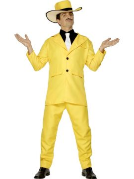 Zoot suit For Sale - Zoot Suit, Yellow, With Jacket, Trousers, Shirt, Tie and Hat | The Costume Corner Fancy Dress Super Store