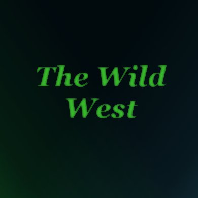 The Wild West | The Costume Corner