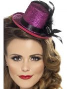 Mini Tophat - pink costumes