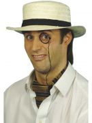 Straw Boater Hat costumes