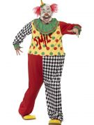 Adult Scary Clown Costume Adult Mens costumes
