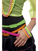 Florescent Neon Bracelets Beads costumes
