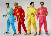 Beatles Sgt. Pepper costumes male hire costumes