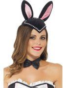 Burlesque Bunny Skull Cap costumes