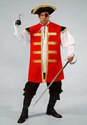 Captain Hook male hire costumes