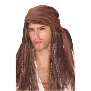 Caribbean Pirate Wig costumes