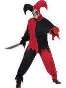 Jester Costume for men Halloween Circus Clown costumes