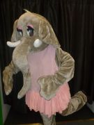 Elephant in Tutu Mascot costumes